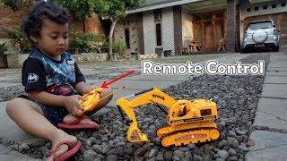 Mainan Excavator Remote Control - Review RC Excavator