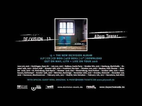 """DE/VISION - """"13"""" ALBUM TEASER"""
