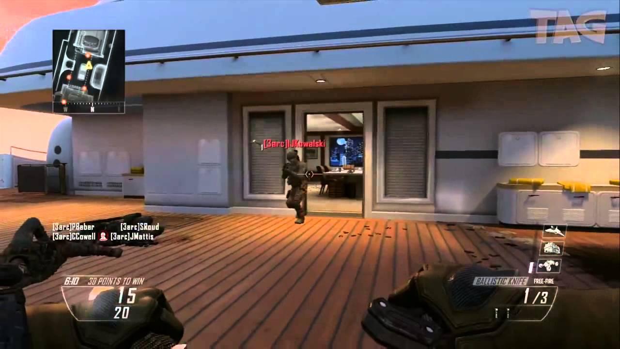 Ballistic Knife Black Ops Gameplay Black Ops 2 Ballistic Knife w