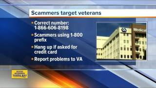 Scammers trying to steal credit card data from veterans dialing a fake Choice Program phone line