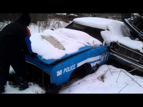 Cameron Destroys Police Car