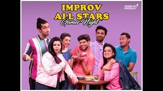 Improv All Stars Games Night - CrossTalk