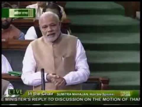 Narendra Modi's Thought Provoking Reply to Mulayam Singh Yadav in Paliament On Ganga Taunt