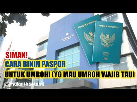 Foto e paspor untuk umroh