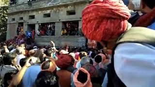 श्री श्री 1008 महावीर पुरी जी महाराज की अंतिम यात्रा आस पहाड़ दरबार(3)