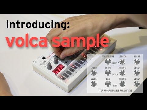 Introducing Korg Volca Sample video