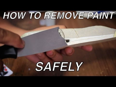 HOW TO SAFELY REMOVE/STRIP PAINT FROM MIDSOLES! (3's .4's .etc)