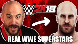 """WWE Superstars Play """"WWE 2K19"""" As Themselves • Pro Play"""
