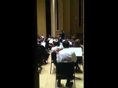 ATL Falcons Justin Blalock conducts Atlanta Symphony Orchestra