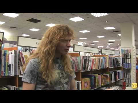 Arts&Life: Megadeth front man Dave Mustaine