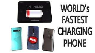 Battery Charging Speed Test: OnePlus 7 Pro vs Samsung S10 Plus vs OnePlus 6T [4K]