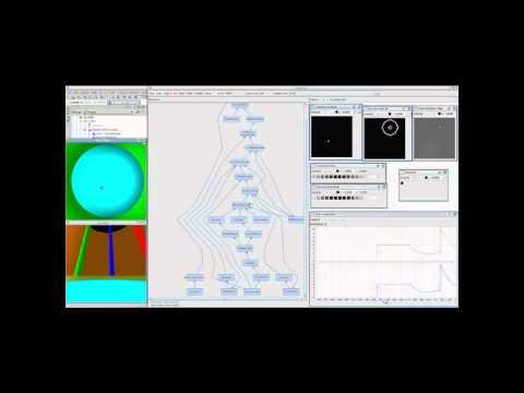 MoNETA (Modular NEural Traveling Agent) swims in the virtual Morris Water Maze