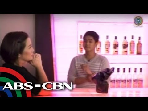 Coco Martin has his own bar at home