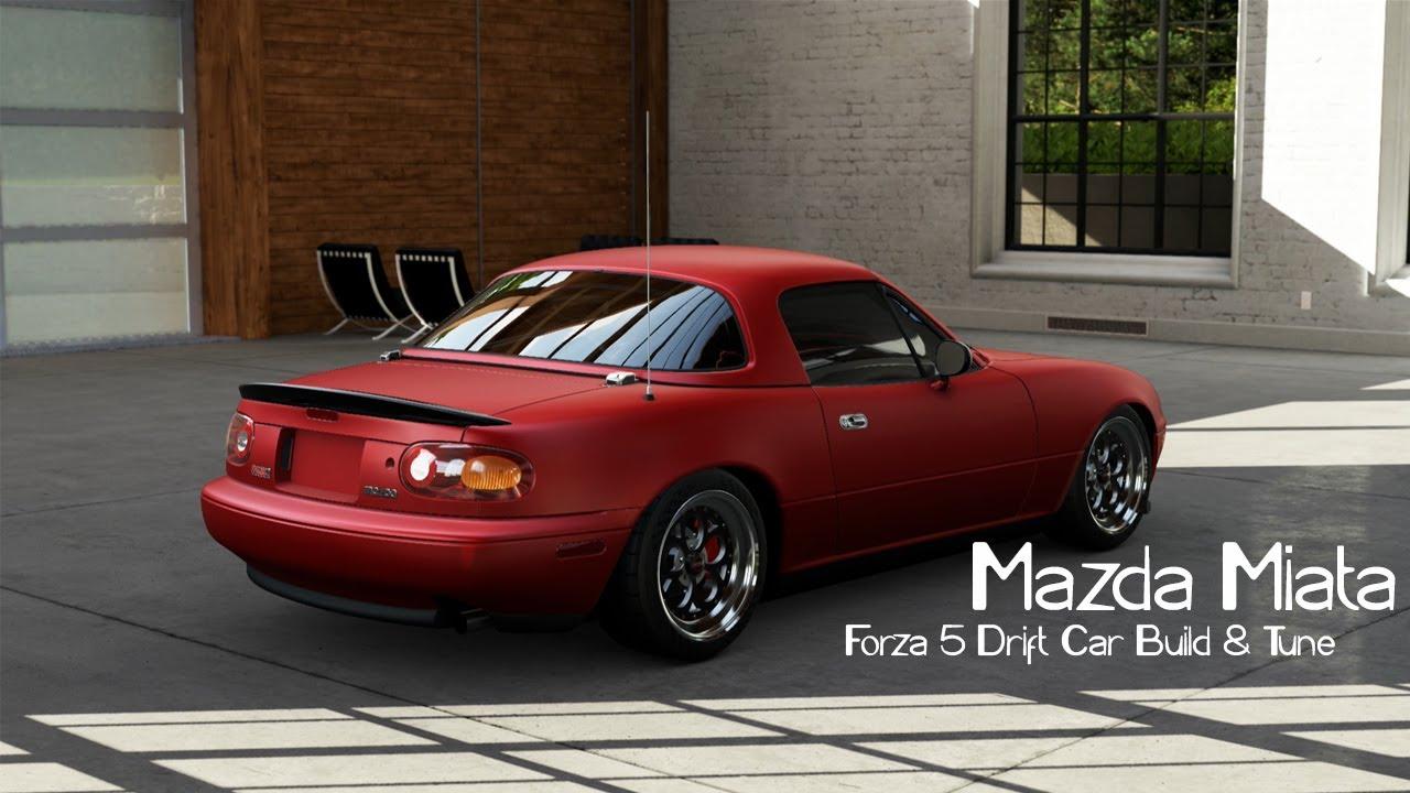 forza 5 drift car building tuning 7 mazda mx5 miata. Black Bedroom Furniture Sets. Home Design Ideas