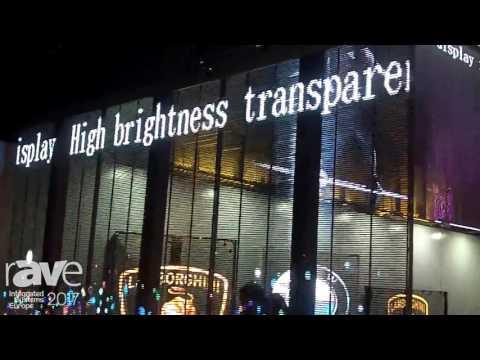 ISE 2017: LED-Hero Presents Transparent LED Display