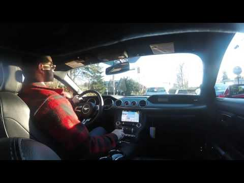 GoPro Hero+ test footage - 2016 Mustang GT quick drive