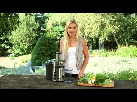Breville -- Health Full Life™: Recommended Daily Allowance of fruits and vegetables, juice recipe