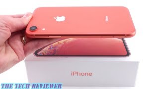 Unboxing the iPhone XR in Coral: Apple's Best Color Yet!