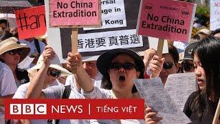 Biểu tình phản đối luật dẫn độ ở Hong Kong - BBC News Tiếng Việt