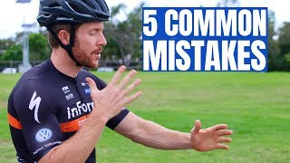 Top 5 Common Cycling Corrections (from a cycling coach)
