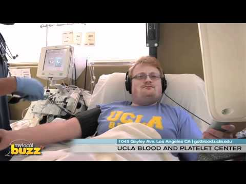 http://gotblood.ucla.edu/ The UCLA Blood & Platelet Center collects approximately 30000 volunteer whole blood and platelet donations per year. These donatio...