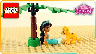 ♥ LEGO Disney Princess Jasmine & Rajah build Jasmine