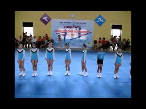 the duc aerobic  thieu nhi Q. LONG BIEN 2011
