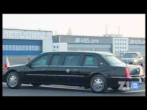 Na Ruzyni přistál Air Force One, Obama je v Praze