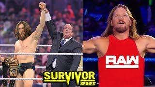 10 WWE Survivor Series 2018 Rumors & Surprises - AJ Styles Joins RAW?