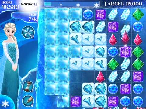 Frozen Free Fall - How to Pass Level 157