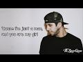 SoMo - Just A Man [Lyrics] HD
