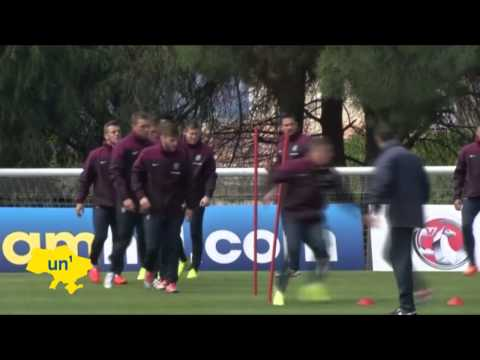 England Prepare for Brazil 2014 World Cup: Roy Hodgson's World Cup squad trains in Portugal