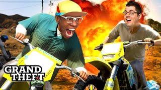 EXPLODEY BIKE GAME! (Grand Theft Smosh)