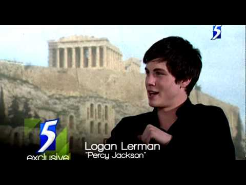 Logan Lerman Interview: Percy Jackson &amp; The Lightning Thief