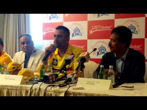 UAE IPL 7 set for blast off Captain Dhoni on Chennai Super Kings' 'chop and change' plan