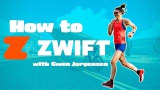 Zwift running tutorial || with Gwen Jorgensen