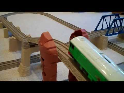 BOCO Pulls 13 Trackmaster Thomas The Train Troublesome Trucks Uphill Kids Toy Train Set