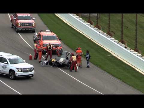 Josef Newgarden Incident - Indianapolis Motor Speedway - May 14