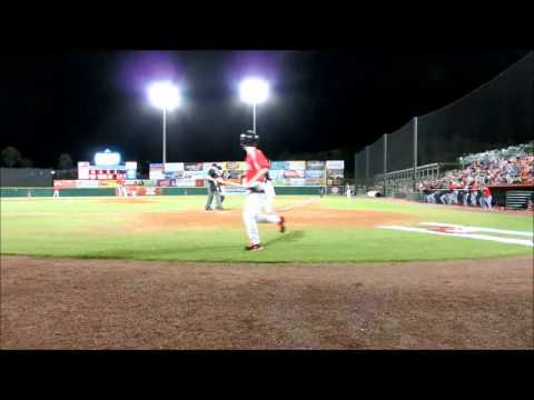 Joey Gallo HR - Kannapolis @ Hickory Crawdads, NC - May 24 2013