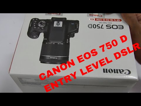 CANON EOS 750 D, MY NEW ENTRY LEVEL DSLR CAMERA,