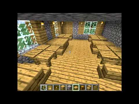 быстрые постройки и их ролики в Minecraft(2)