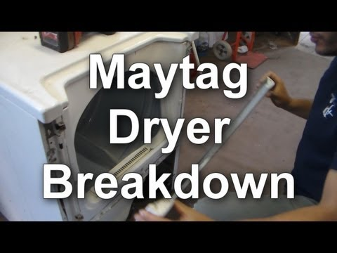 Maytag Dryer - How to Take Apart a Dependable Care Dryer