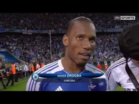Bayern Munich Vs Chelsea 3-4 - Champions League Final 2012-05-19 - The Heroes interview 2011-05-19