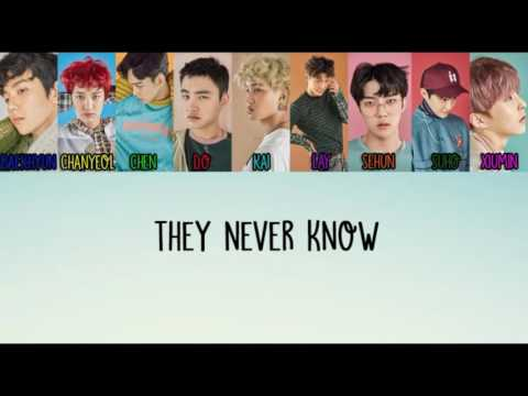 EXO - They Never Know (Han Rom Eng Lyrics)