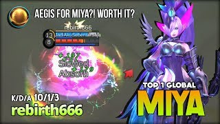 Another Underrated Marksman Still Worth it?! rebirth666 Top 1 Global Miya ~ Mobile Legends