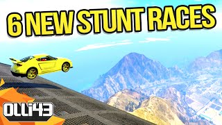 GTA 5 Online - 6 New Stunt Tracks & 3 New Vehicles! (GTA 5 Cunning Stunts)