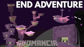 Minecraft   How to defeat the End City on Avomancia   Solo Survival with Avomance