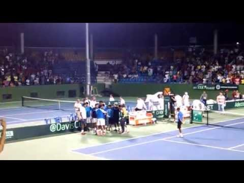 Somdev Devvarman Winning Moments - Davis Cup 2014