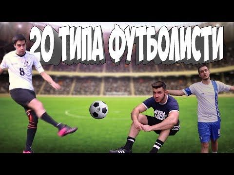 20 ТИПА ФУТБОЛИСТИ