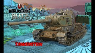 TankenStein - World of Tanks Blitz (130MM Gun)